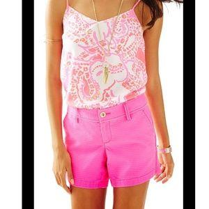 Lilly Pulitzer Jacquard Callahan Shorts Pink 22119